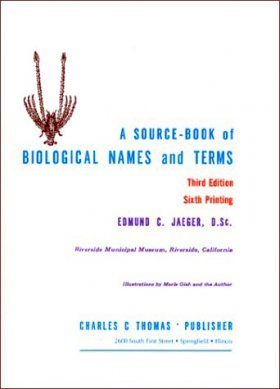 A Source-Book of Biological Names and Terms