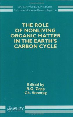The Role of Non-Living Organic Matter in the Earth's Carbon Cycle