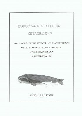 European Research on Cetaceans, Volume 7