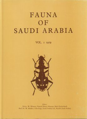 Fauna of Saudi Arabia, Volume 1