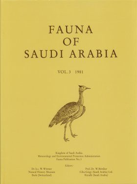Fauna of Saudi Arabia, Volume 3