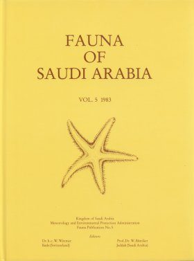 Fauna of Saudi Arabia, Volume 5