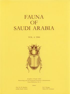 Fauna of Saudi Arabia, Volume 6