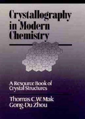 Crystallography in Modern Chemistry