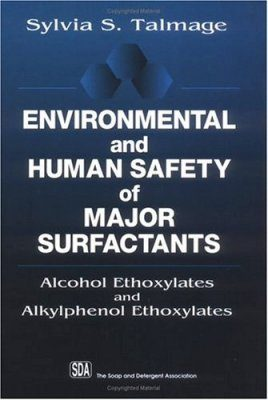 Environmental and Human Safety of Major Surfactants