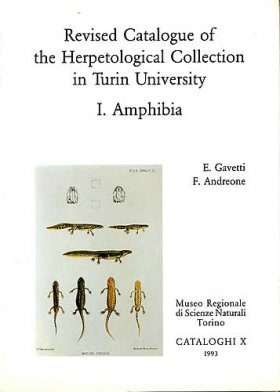 Revised Catalogue of the Herpetological Collection in Turin University