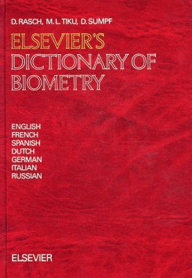 Elsevier's Dictionary of Biometry