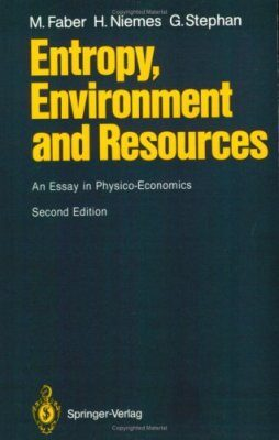 Entropy, Environment and Resources