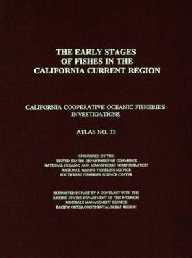 Early Stages of Fishes in the California Current Region