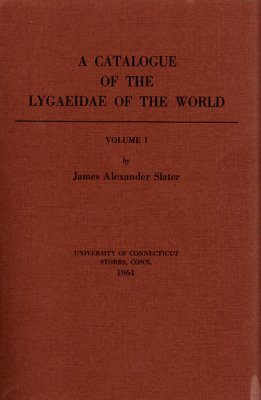 A Catalogue of the Lygaeidae of the World