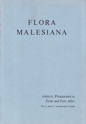 Flora Malesiana, Series 2: Pteridophyta, Volume 1, Part 4