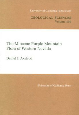 The Miocene Purple Mountain Flora of Western Nevada