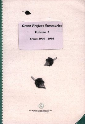 Grant Project Summaries, Volume 1