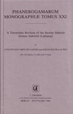 A Taxonomic Revision of the Section Sideritis (Genus Sideritis) (Labiatae)