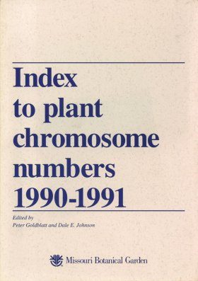 Index to Plant Chromosome Numbers, 1990-1991