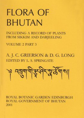 Flora of Bhutan, Volume 2, Part 3