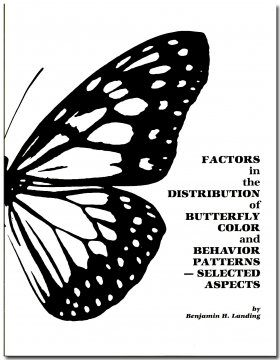 Factors in the Distribution of Butterfly Color and Behavior Patterns - Selected Aspects