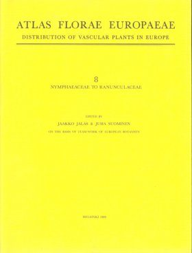 Atlas Florae Europaeae, Volume 8 [English]
