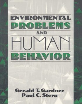Environmental Problems and Human Behaviour