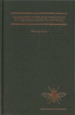 Catalogue of the Sarcophagidae of the World (Insecta: Diptera)