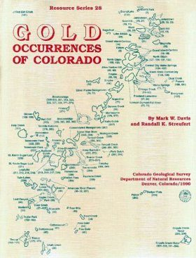 Gold Occurrences of Colorado