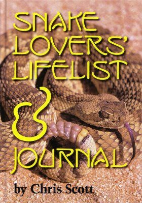 Snake Lovers' Lifelist and Journal