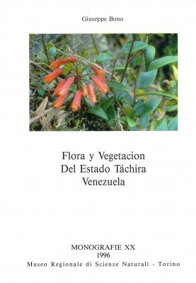 Flora y Vegetacion del Estado Táchira, Venezuela [Flora and Vegetation of the State of Tachira, Venezuela]