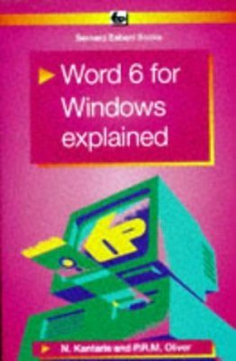 Word 6 for Windows Explained