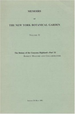 The Botany of the Guayana Highland, Part 11