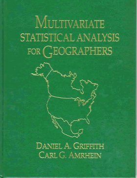 Multivariate Statistics for Geographers