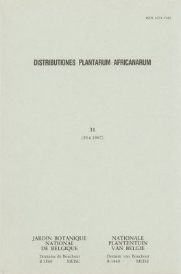 Distributiones Plantarum Africanarum [French], Fascicle 31: Rubiaceae