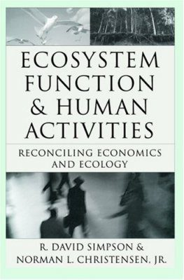 Ecosystem Function and Human Activities