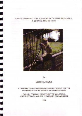 Environmental Enrichment in Captive Primates