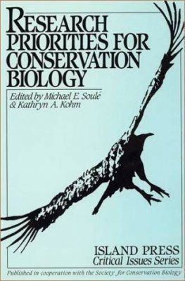 Research Priorities for Conservation Biology