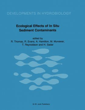 Ecological Effects of In-Situ Sediment Contaminents