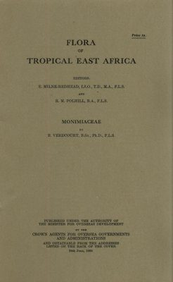 Flora of Tropical East Africa: Montiniaceae