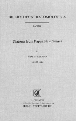 Bibliotheca Diatomologica, Volume 22: Diatoms from Papua New Guinea
