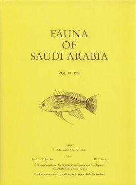 Fauna of Saudi Arabia, Volume 10