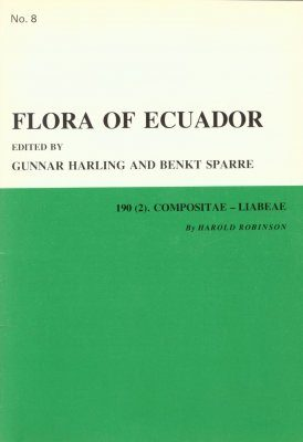 Flora of Ecuador, Volume 8, Part 190 (2): Compositae-Liabeae