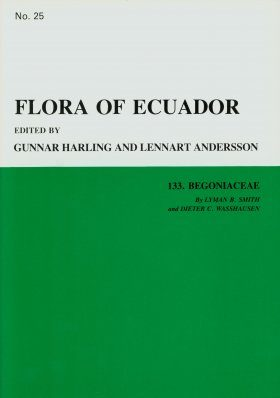 Flora of Ecuador, Volume 25, Part 133: Begoniaceae