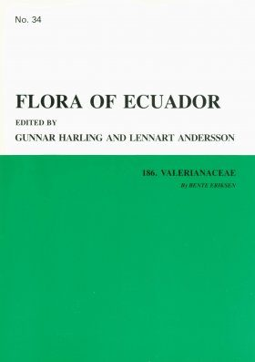 Flora of Ecuador, Volume 34, Part 186: Valerianaceae