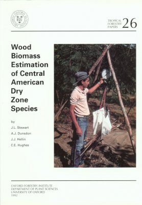 Wood Biomass Estimation of Central American Dry Zone Species