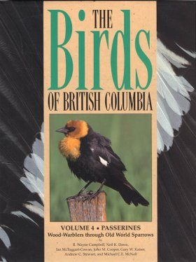 The Birds of British Columbia, Volume 4