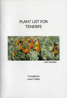 Plant List for Tenerife