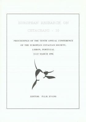 European Research on Cetaceans, Volume 10