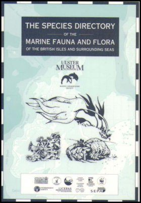 The Species Directory of the Marine Fauna and Flora of the British Isles and Surrounding Seas