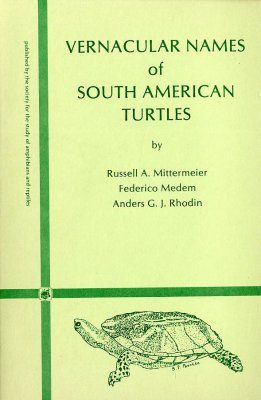 Vernacular Names of South American Turtles