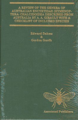 A Review of the Genera of Australian Encyrtidae (Hymenoptera: Chalcidoidea) Described from Australia by A.A. Girault with a Checklist