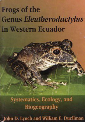 Frogs of the Genus Eleutherodactylus in Western Ecuador