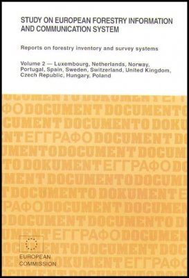 Study on European Forestry Information and Communication System, Volume 2